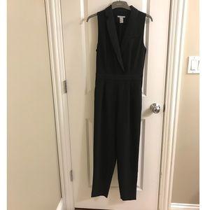 H&M tuxedo romper jumper Sz 4